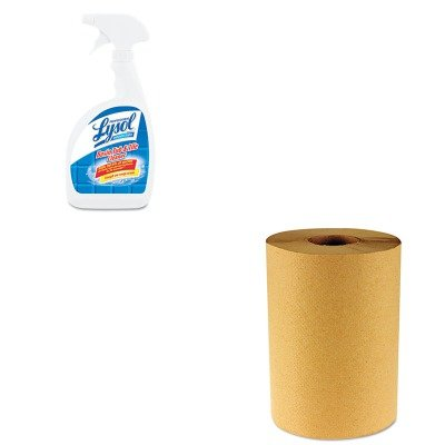 KITBWK6256RAC04685CT - Value Kit - Professional LYSOL Brand Basin/Tub/Tile Cleaner (RAC04685CT) and Boardwalk 6256 Natural Hardwound Roll Paper Towels, 8quot; x 800' (BWK6256)