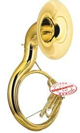 Fever AVA2450L Student BBb Sousaphone Gold Lacquer, AVA2450L by Fever