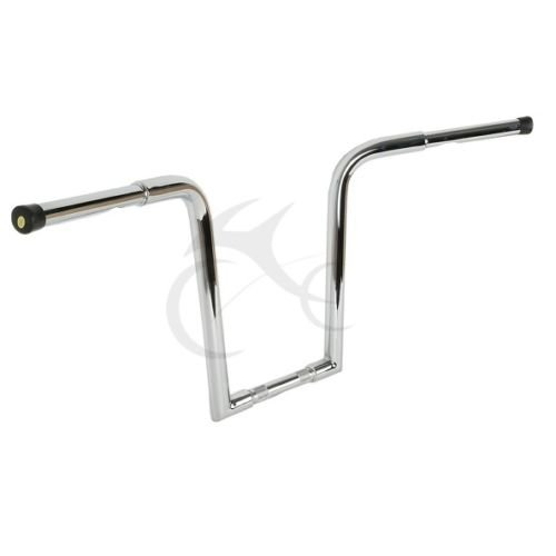 "TCMT Motorcycle Fat 16"" Rise Ape Hanger Bar Handlebar Drag For Harley Davidson FLST FXST Chopper"