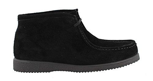 Hush Puppies Men's Bridgeport Boot,Black Suede,9.5 M (Hush Puppies Mens Boots)