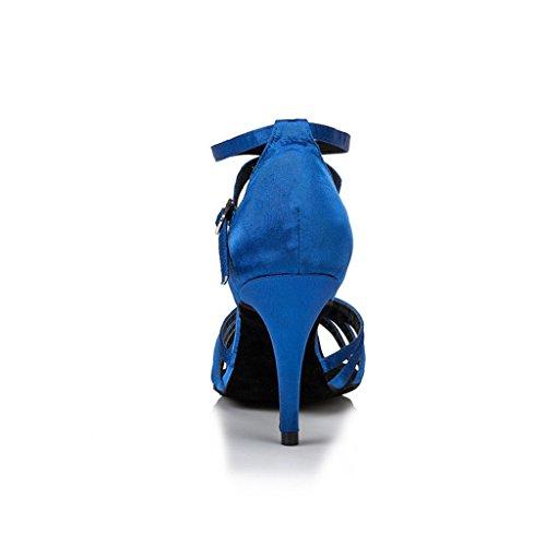 Monie De Bleu Bal Salle Femme PPxHR
