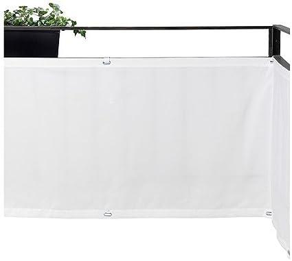 IKEA DYNING - Wind- / parasol, blanco - 250x80 cm: Amazon.es: Jardín