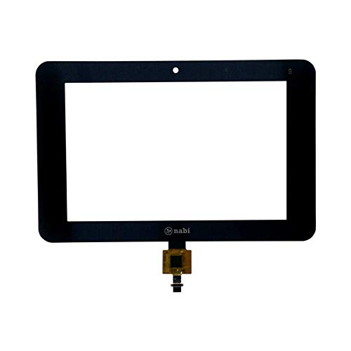 FidgetGear New Touch Screen Digitizer Glass LCD Display Replacement for NABI 2S SNB02-NV7A Part One Size (Nabi 2 Replacement Lcd Screen)