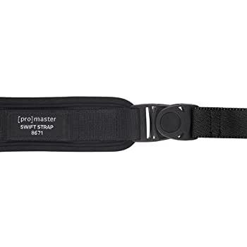 Promaster Swift Strap 2 For Compact Or Mirrorless Dslr - Black 1