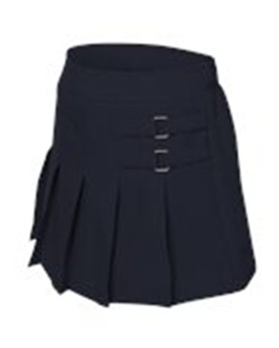 French Toast Girls Pleated Scooter (X9103) -NAVY -8