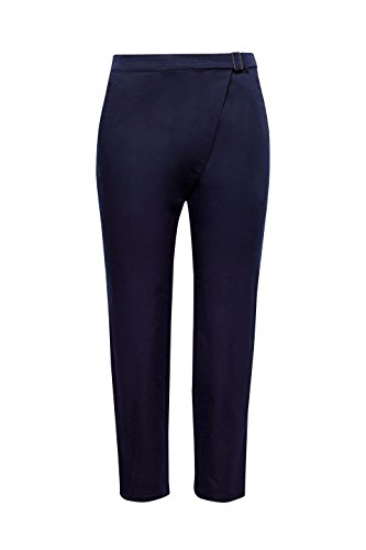 400 Mujer Para Azul navy Pantalones Esprit EWU1qHnqX