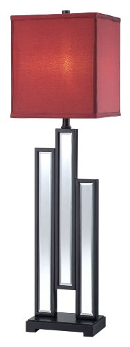 "Lite Source LS-22162 Specchio Buffet Lamp, 9"" x 9"" x 32.25"","
