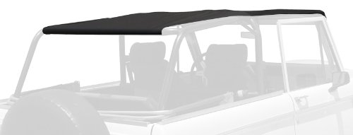 RAMPAGE PRODUCTS 98235 Full Length Safari Island Topper for 1966-1977 Ford Bronco Black Diamond