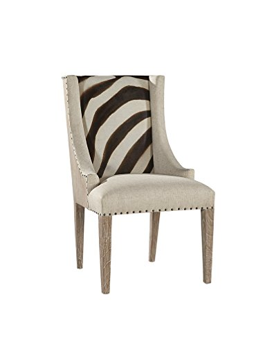 Brown Zebra Cream (Sloane Elliot SE0080 Zebra Print Scoop Chair Brown and Cream)
