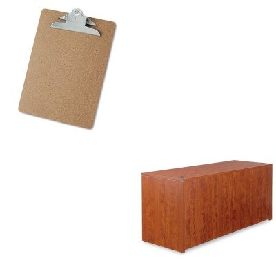 KITALEVA256624MCUNV40304 - Value Kit - Best Valencia Series Credenza Shells (ALEVA256624MC) and Universal 40304 Letter Size Clipboards (UNV40304) by Best