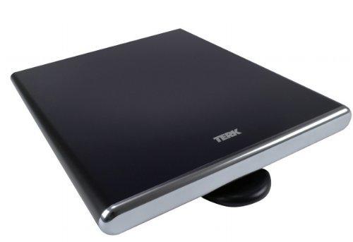 TERK Omni-Directional, Amplified Digital Flat Indoor HDTV Antenna (Renewed)
