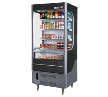 Beverage Air VM7-1-G Vuemax Series Open-Air Merchandiser