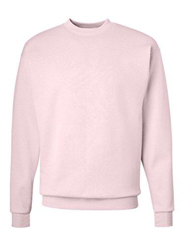 Hanes Comfortblend Pullover Fleece (Hanes ComfortBlend® EcoSmart® Crew Sweatshirt Pale Pink L)