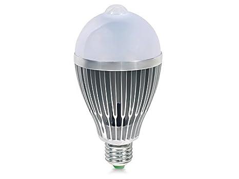 Led u led lampadina lampada led illuminazione con sensore di
