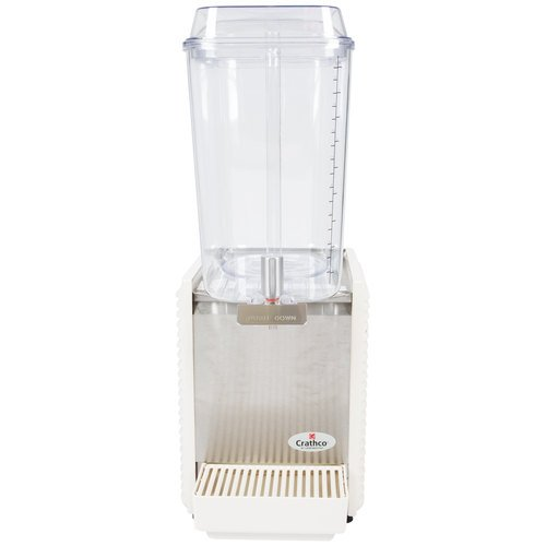 Crathco - D15-4 - 1 Bowl Refrigerated Beverage Dispenser w/ Plastic Side Panels by Grindmaster