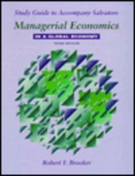 Managerial Economics in a Global Economy: Study Guide