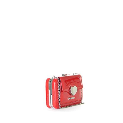 Main Sac Moschino Rouge Femme à Love 0vFxnBwq
