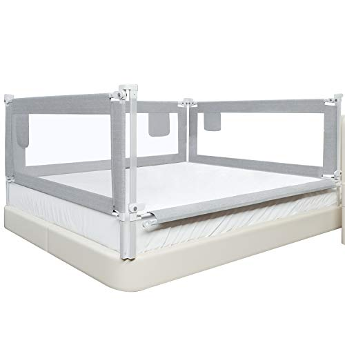 """picture of SURPCOS Bed Rails for Toddlers » 60"""" 70"""" 80"""" Extra Long"""
