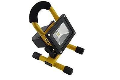 Lightahead 10w COB Rechargebale Flood Light Super Bright LED Work Light Lamp Rechargeable Flood Lights Lamp