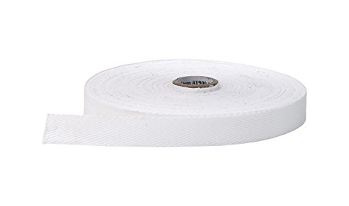 Pearl Wide Twill Tape White product image
