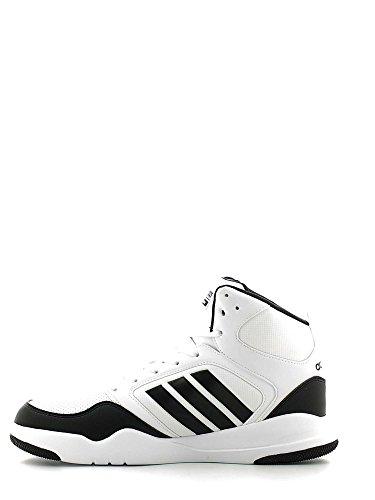 adidas Cloudfoam Rewind Mid, Scarpe da Basket Uomo, Bianco (Ftwbla/Negbas/Negbas), 40 EU