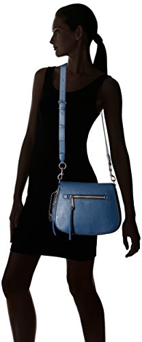 Bag Jacobs Marc Saddle Recruit Blue Dark Crossbody 0UpqA17