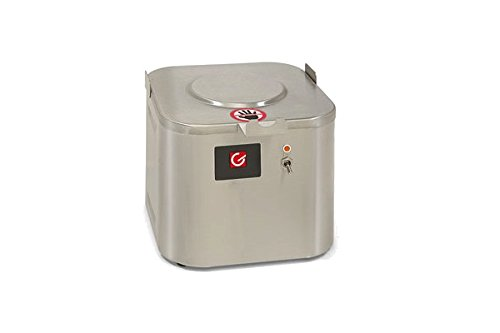 Grindmaster-Cecilware CW-1 Warmer for 1.5-Gallon Shuttle, 7.5-Inch, Stainless Steel by Lee Global Imports and Consulting, Inc.