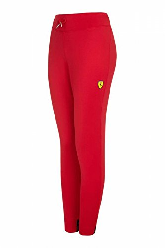 Ferrari Ladies Red 3/4 Stretch Pants - Women Ferrari