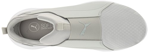 White puma Gray Puma Mid Wns Sneaker Rebel Women's Violet gray Violet ggZWBvA