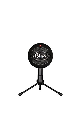 Blue Snowball iCE Condenser Microphone, Cardioid - - And Black Youtube Blue