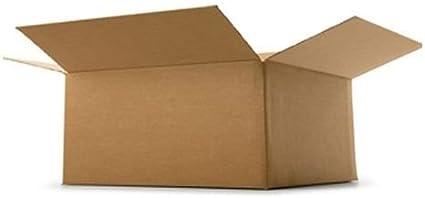 REALPACK® 10 x cajas de una sola pared tamaño: 30 x 23 x 17,8