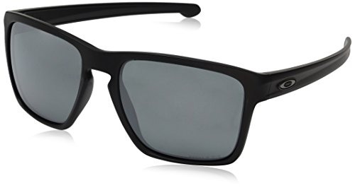 (Oakley Men's Sliver Xl Non-Polarized Iridium Rectangular Sunglasses, Ruby Fade, 57 mm)