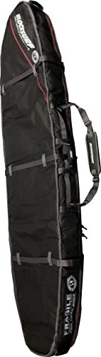 Block Surf USA 8'0'' SHORTBOARD DOUBLE COFFIN surfboard day TRAVEL board bag HOLDS 2 BORADS by Block Surf