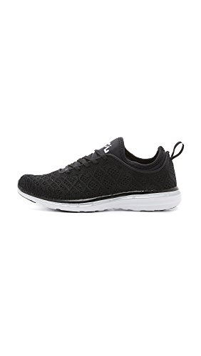 APL: Athletic Propulsion Labs Frauen Techloom Phantom Laufschuh Schwarz / Metallic Silber
