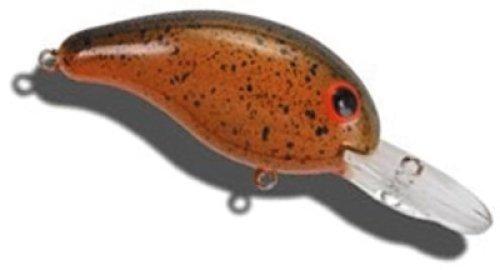Bandit 1D39 100 Series Hard Bait Fishing Lure, Orange Finish