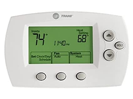 trane xl602 tcont602 tcont602af22maa programmable 2h 2c rh amazon com Trane Commercial Programmable Thermostat trane thermostat model tcont802as32daa manual
