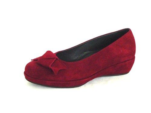 VALLEVERDE - Bailarinas para mujer Rojo Amaranto Amaranto