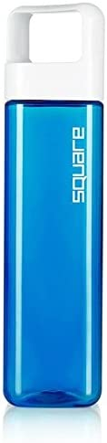 Clean Bottle The Square Leak Proof BPA-Free Tritan Plastic Sports Water Bottle Blue 27 oz SDB-001-BLUE
