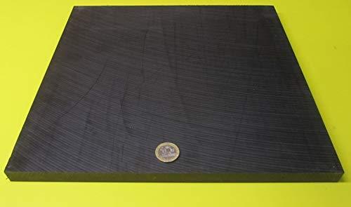 Delrin.625 Length Diameter x 4 Ft Black Acetal POM Round Rod 5//8 2 pcs