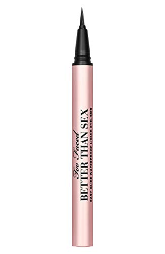 Better Than Sex Easy Glide Waterproof Liquid Eyeliner TOO FACED