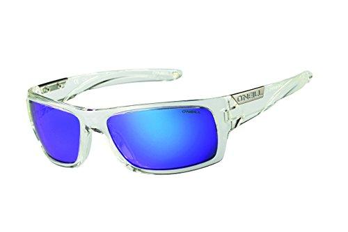 O'Neill Barrel 113P Men's Polarized Wrap Sunglasses, Gloss Crystal - Neill Sunglasses O
