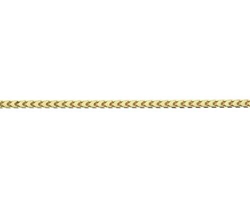 9ct or jaune Franco 6519,1cm/19cm Bracelet