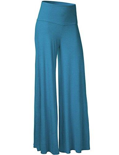 Looseplus - Pantalón - para mujer Acid Blue