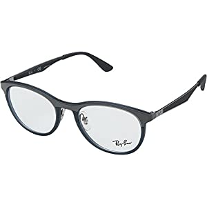 Ray-Ban Unisex 0RX7116 51mm Matte Transparent Grey/Blue One Size