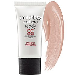 Smashbox SPF 30 Camera Ready CC Cream Broad Spectrum Dark Spot Correcting, Light/Medium, 1 Fluid Ounce (Color Changer Makeup)