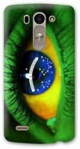 Amazon.com: Case Carcasa LG K10 Bresil - - Brésil oe?il B ...