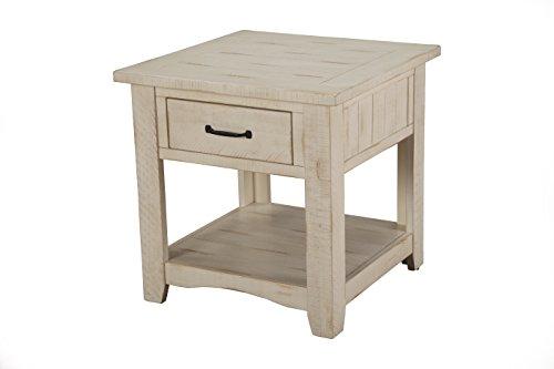 Martin Svensson Home 890133 Rustic End Table, Antique -