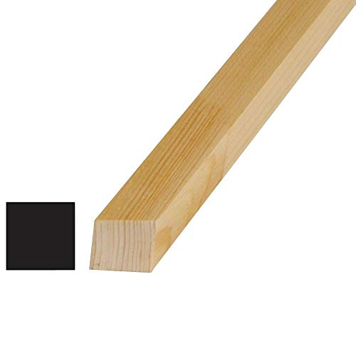 (Alexandria Moulding 1-1/8 in. x 1-1/8 in. x 96 in. Pine Finger-Jointed S4S Lattice Moulding)