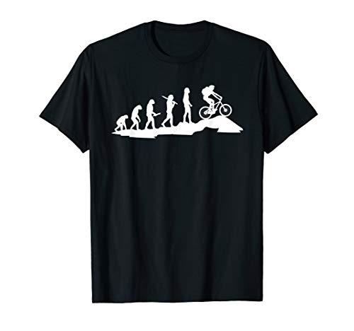 Mountain Bike Evolution Biker MTB Cycling Downhill Gift T-Shirt