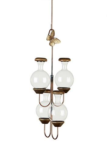 Butterfly Brass Hanging (Brass Butterfly The Four Tier Plant Rooter)